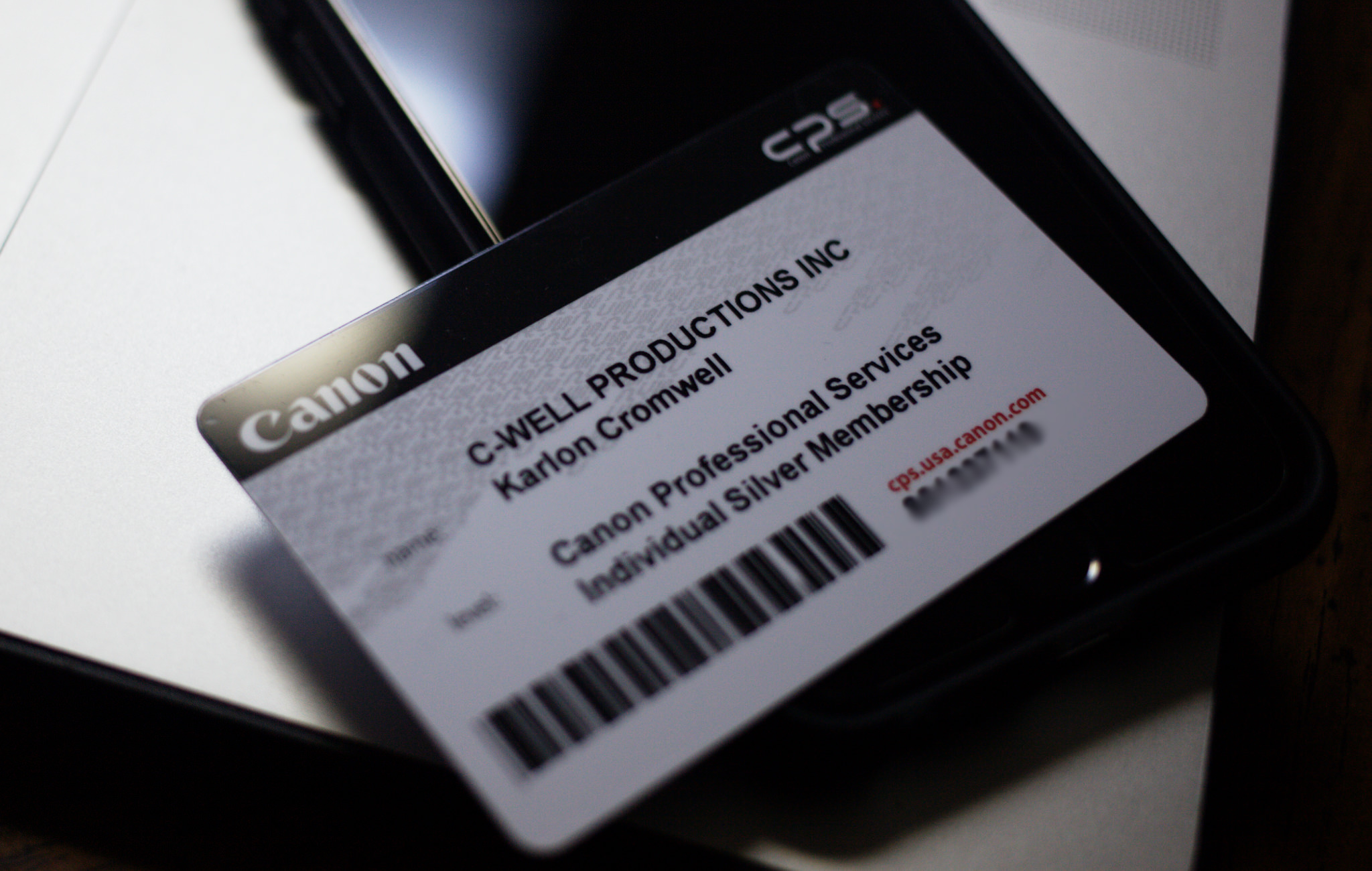 Why I use Canon Professional Services